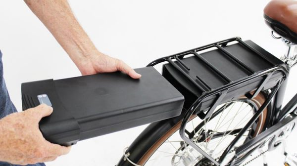opladen lithium accu e-bike