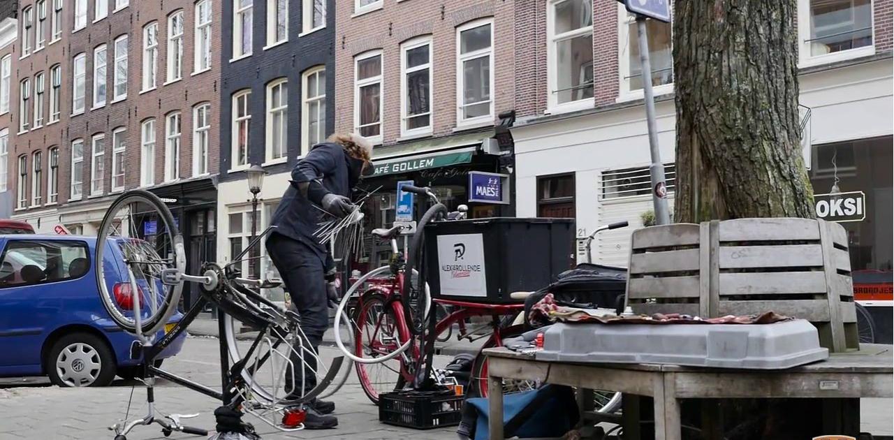 De 20 ervaren mobiele fietsenmakers van Nederland