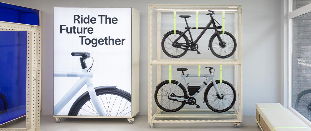 VanMoof financiert miljarden fietstochten