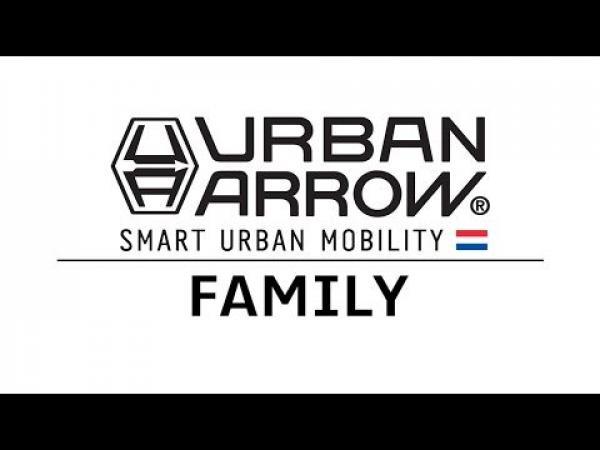 Urban Arrow Family Performance Bakfiets