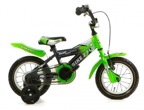 Popal Bike 2 Fly 12k 12 inch Jongens