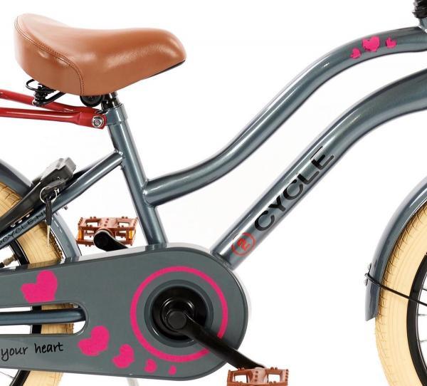 2Cycle Heart 18 inch Meisjes