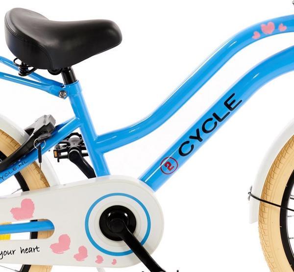 2Cycle Heart 20 inch Meisjes