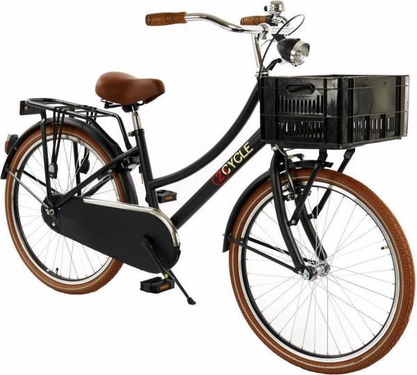 2Cycle Transportfiets 24 inch Meisjes
