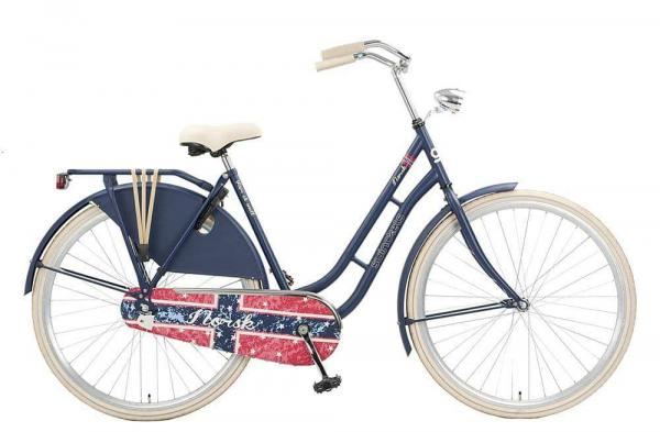 Norsk Blue Omafiets Dames