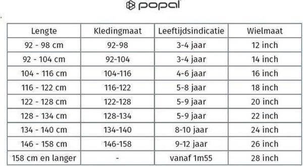 Popal Daily Dutch Basic Plus 26 inch Jongens